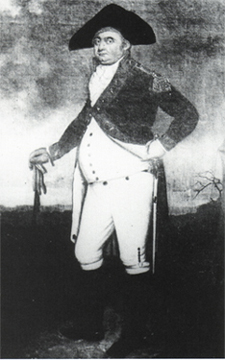 Captain Abraham Mendes Seixas (1750-1799), artist unknown, ca. 1795. Courtesy of the New York Historical Society.