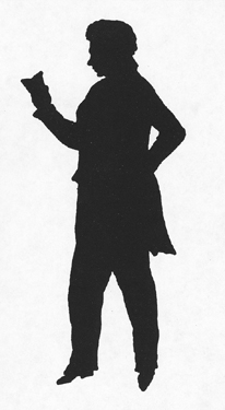 Silhouette of Isaac Harby (1788-1828)