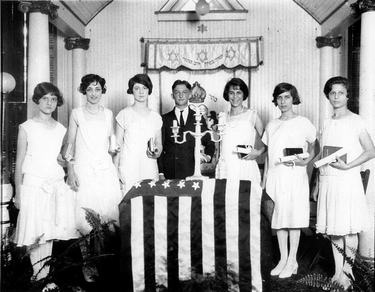 Confirmation at Beth Israel, Beaufort, S.C., 1926.