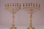 Pair of Menorahs