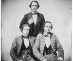 Joshuah Lazarus Moses, Isaac Harby Moses, and Perry Moses
