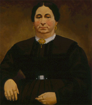 Mrs. Louis Mann, attributed to Solomon N. Carvalho